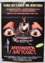 Terror Train Horror Poster - Danish